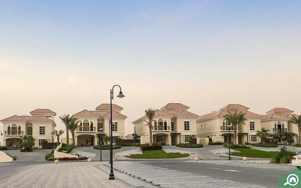 Villas in Al Habtoor Polo Resort in Dubailand