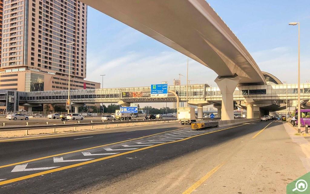 Metro Station in Dubai Media City