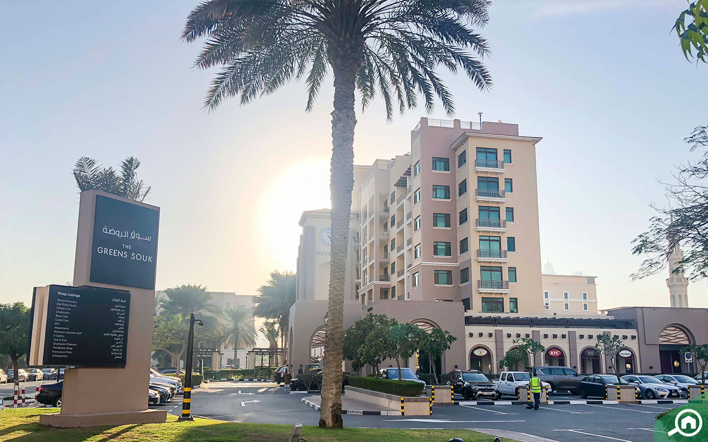 Green Souk near Dubai Media City