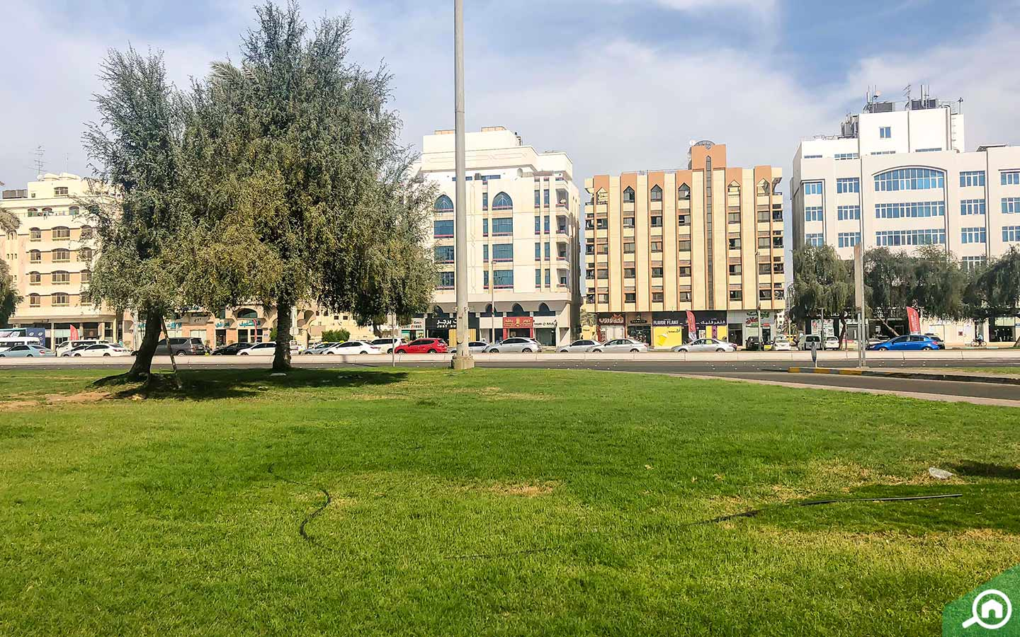 residential apartment area in Al Muroor