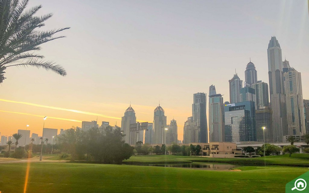 Emirates Gold Club near Dubai Media City