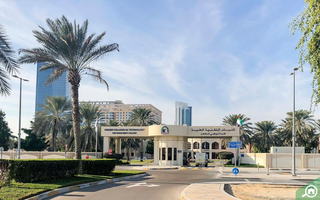 Abu Dhabi Men's College in Al Nahyan