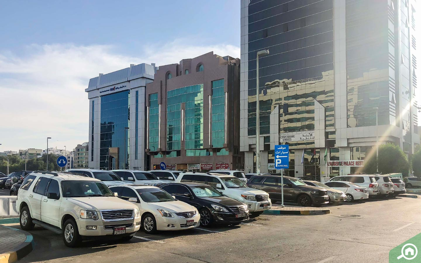Parking and transportation in al nahyan