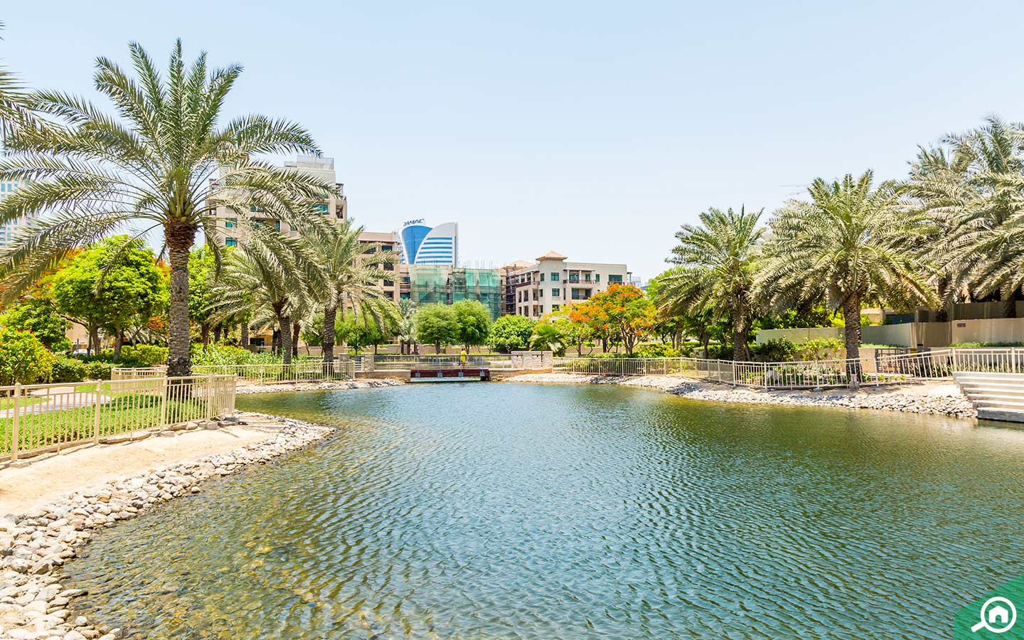 nearby areas of emirates golf club - the greens