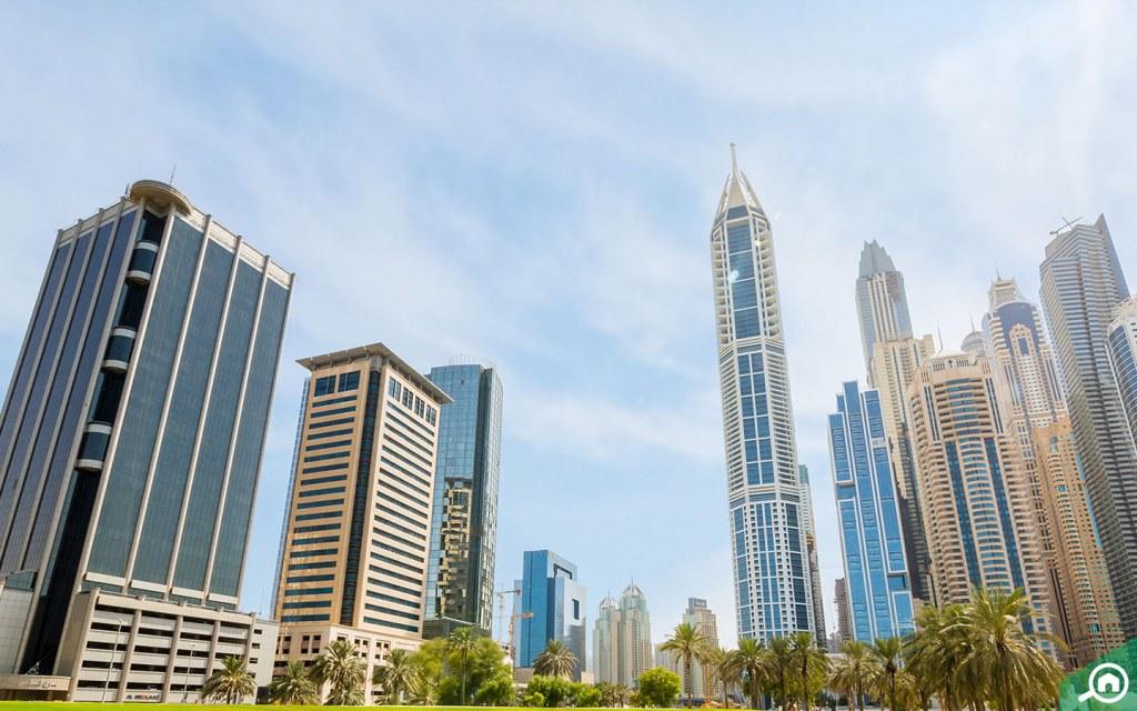 Towers in Dubai Media City