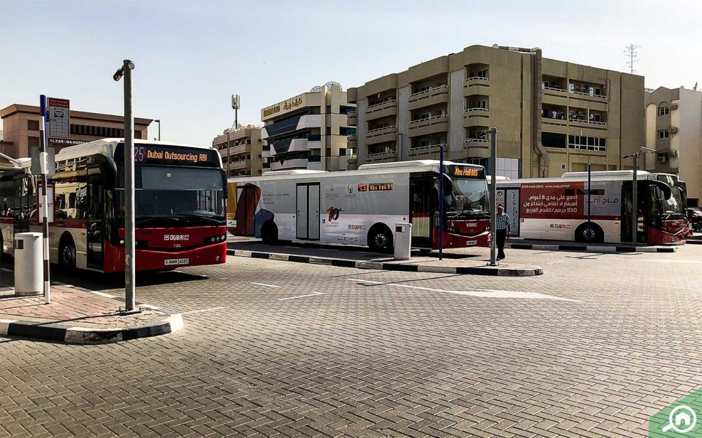 buses in al karama