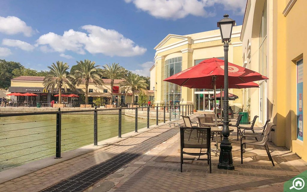 Restaurant in The Market Dubai Investments Park