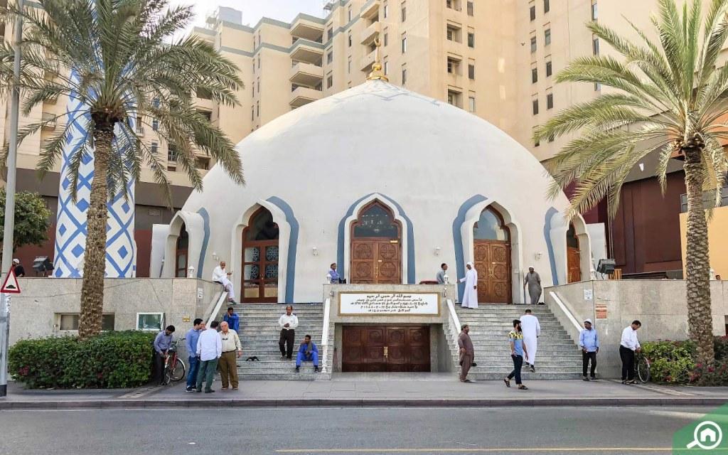 مسجد عمر علي بن حيدر في ديرة
