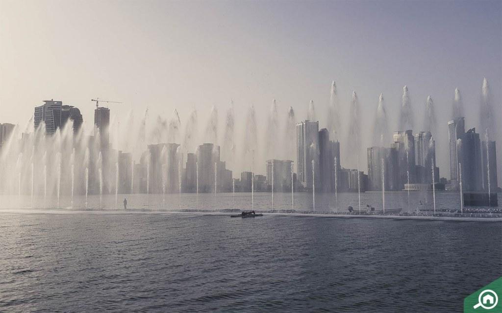 Al Majaz fountain