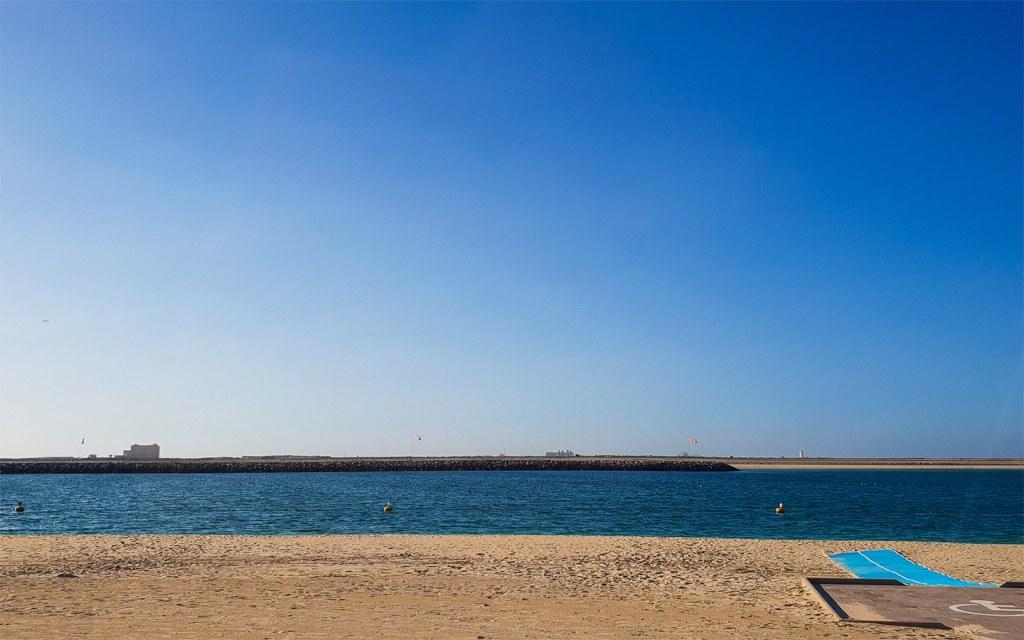 Al Mamzar Beach near Muhaisnah