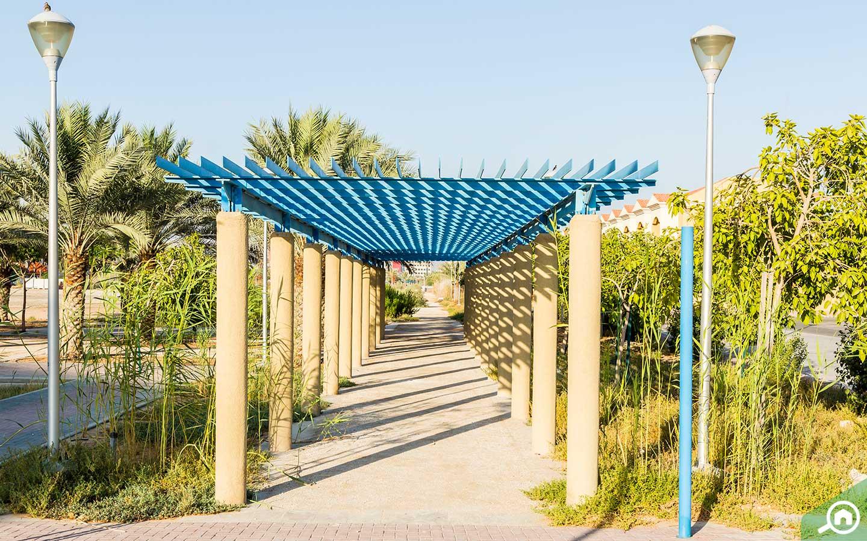 حديقة مثلث قرية الجميرا