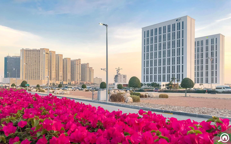 مدينة دبي للإنتاج ، منطقة متعددة الاستخدامات
