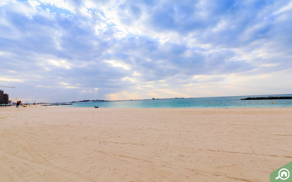 Jumeirah Beach for the residents of Production City
