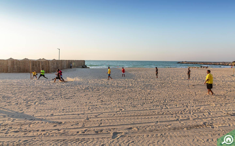 Beach in Ajman Corniche