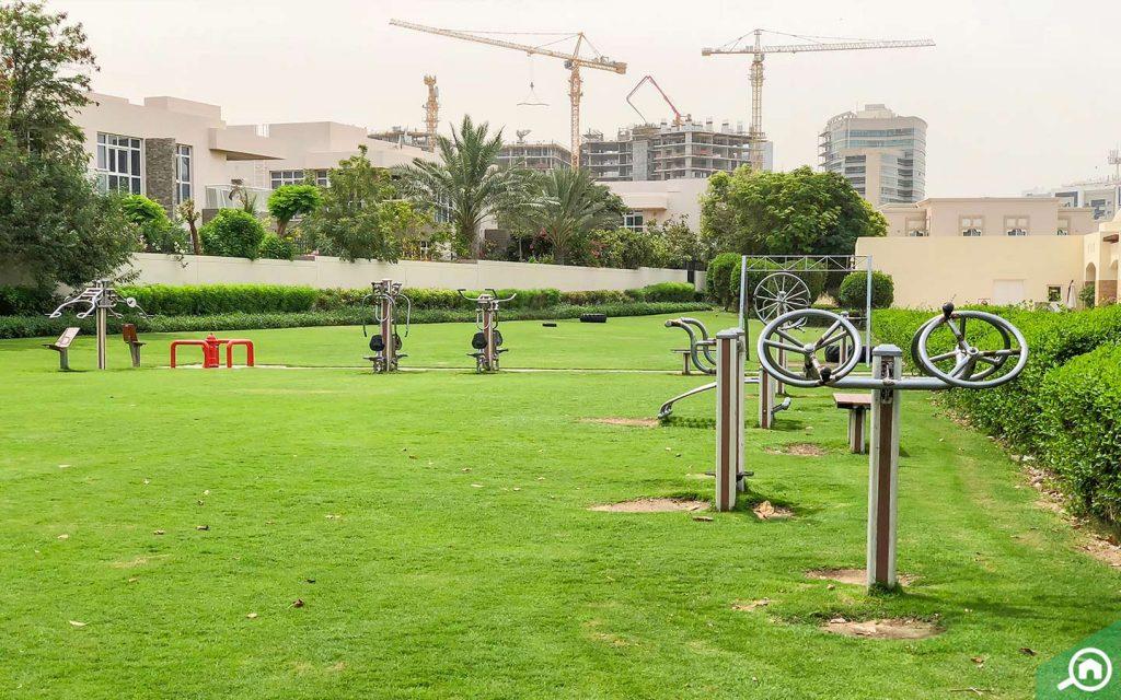 حديقة في واحة دبي للسيليكون