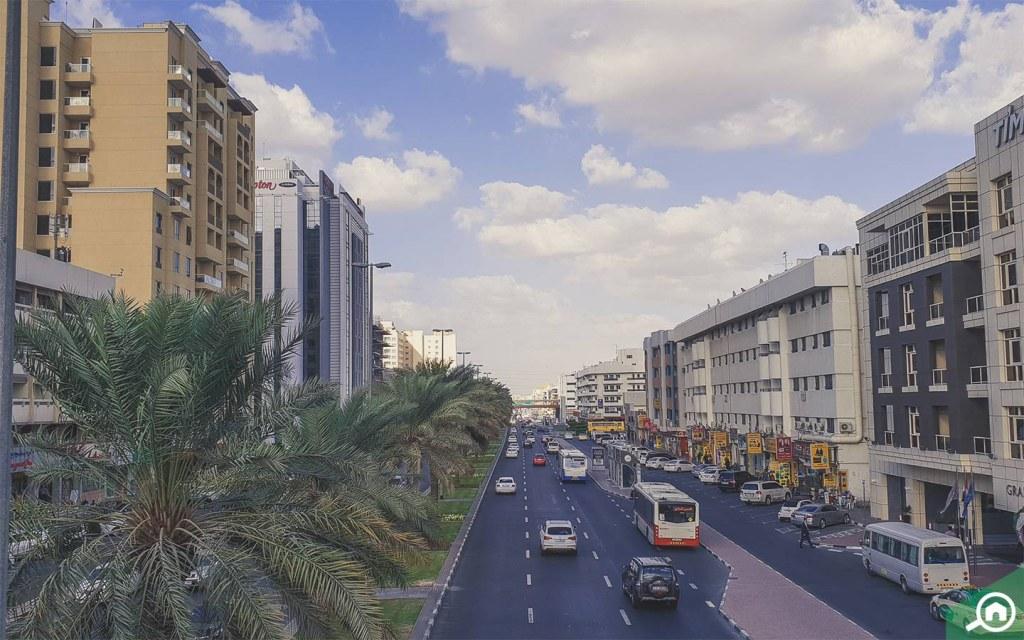 damascus street in al qusais