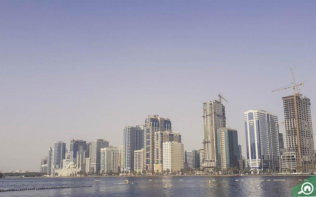 Al Majaz skyline