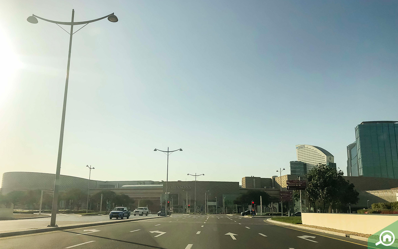 Street View Dubai Festival City
