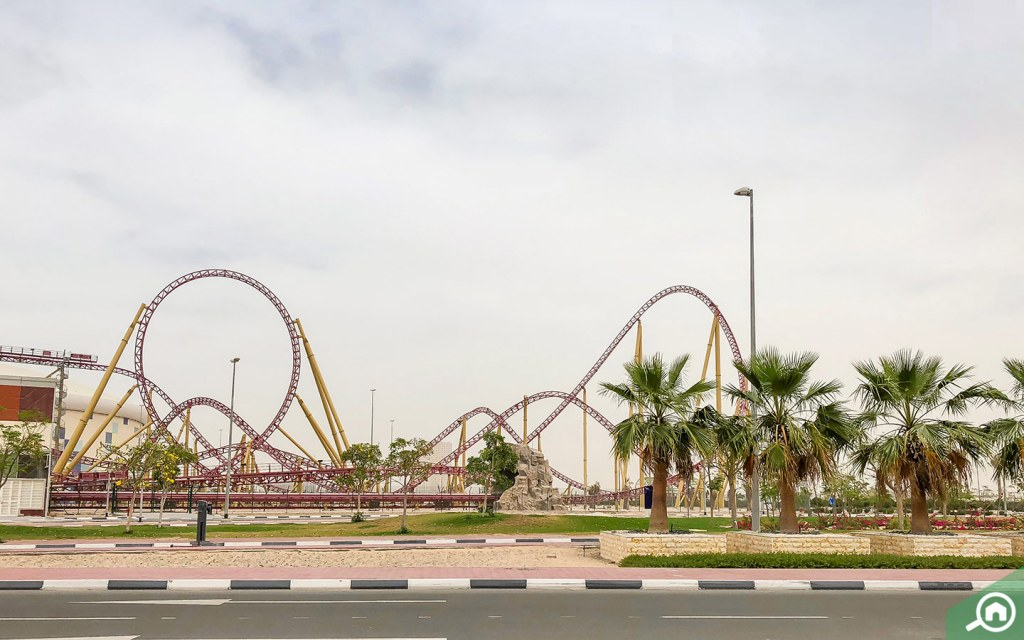 IMG Worlds of Adventure is close to Liwan