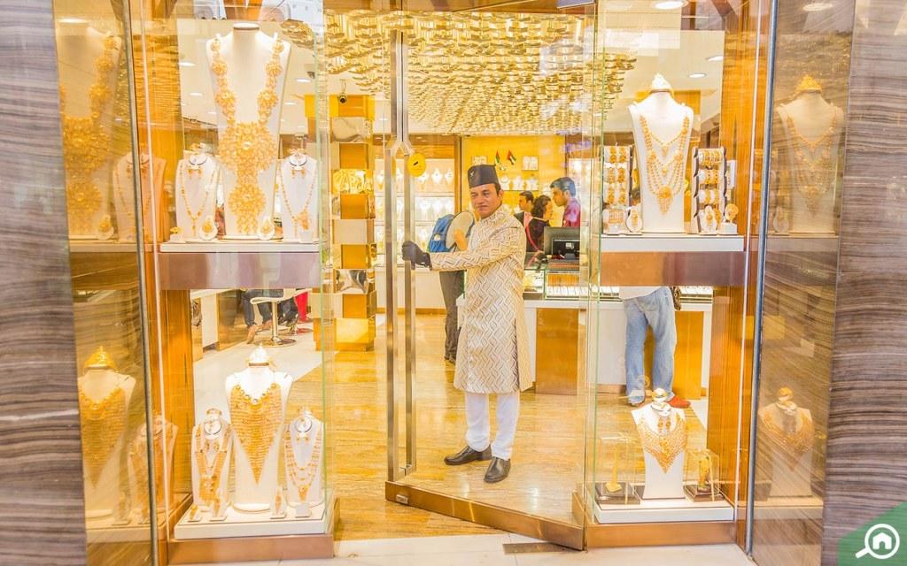 سوق الذهب في منطقة ديرة دبي