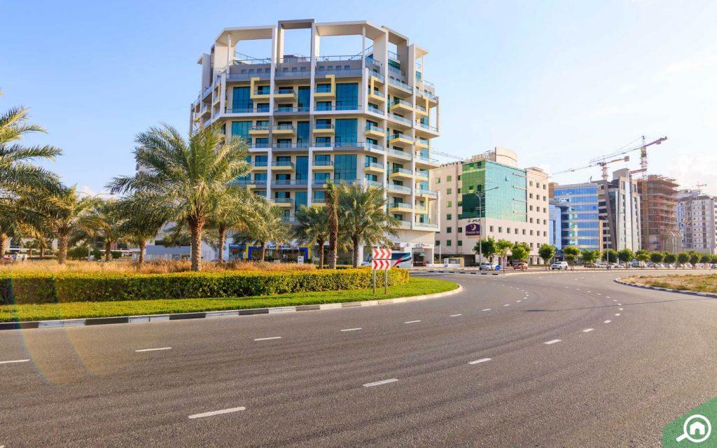 مباني في واحة دبي للسيليكون