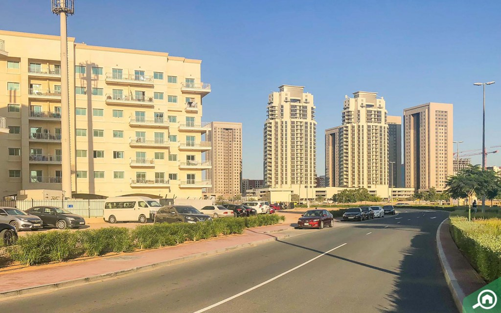 Apartment buildings in liwan