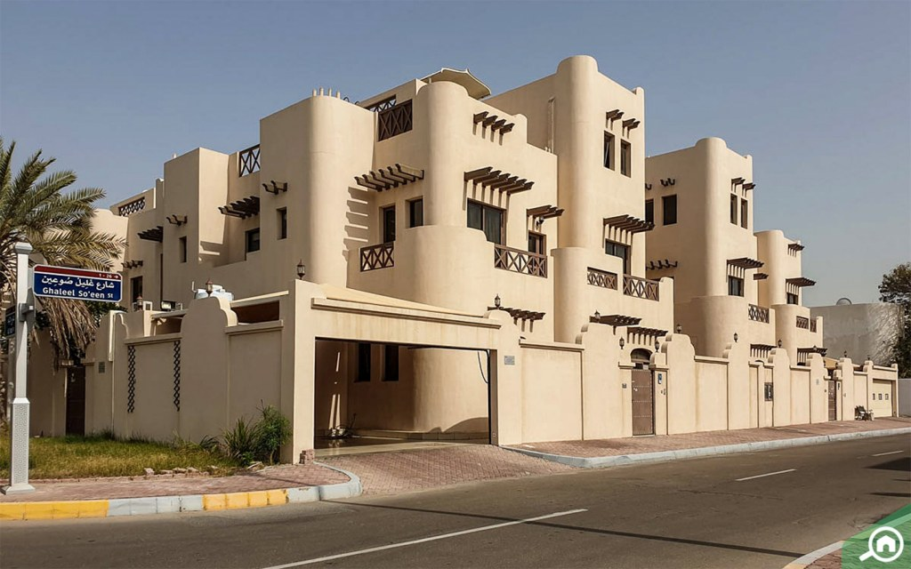 low rise residences al bateen