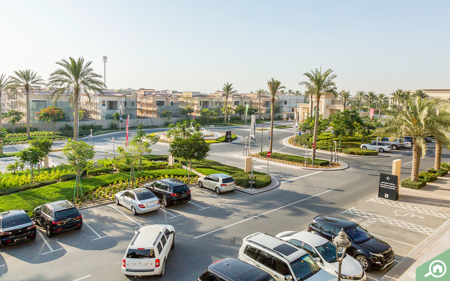 Parking in Arabian Ranches 2