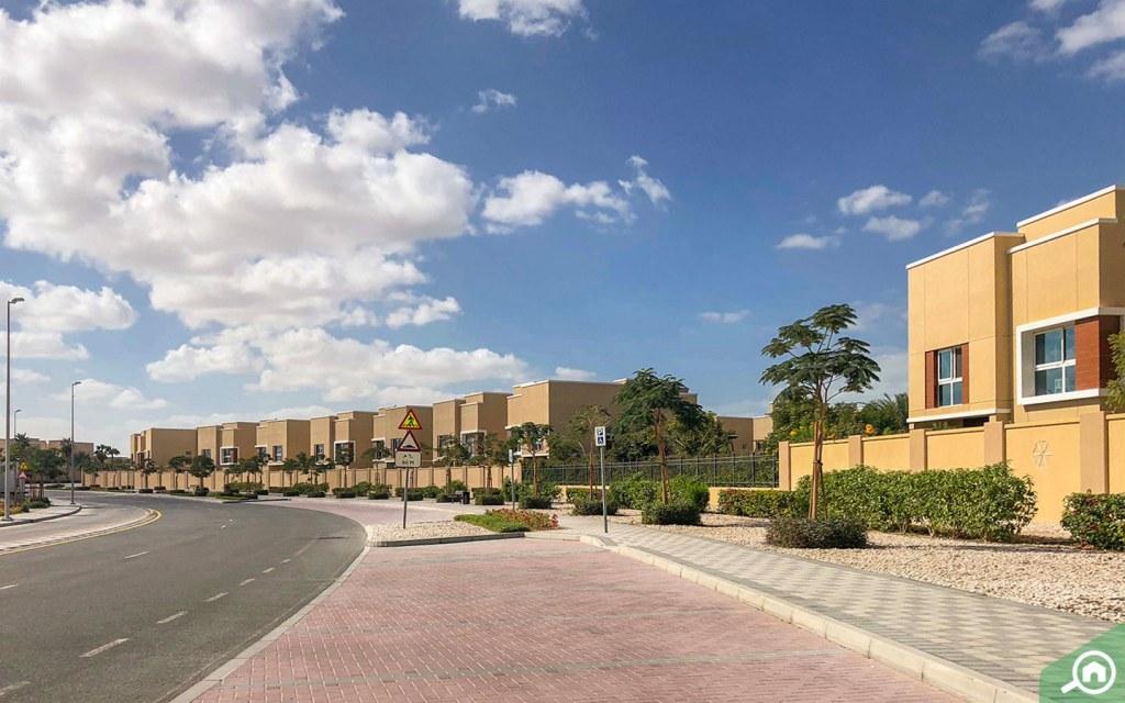 Parking space in Dubai Science Park.
