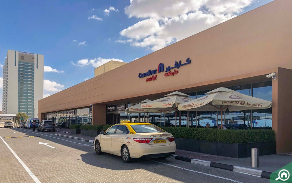 Carrefour in Dubai Science Park.