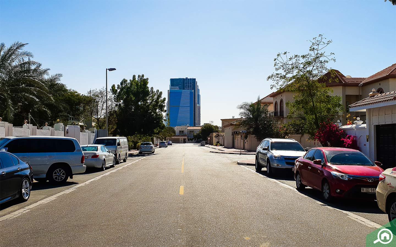 شارع في منطقة الجافلية