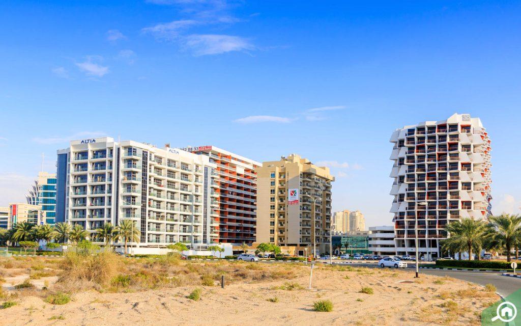 شقق في واحة دبي السيليكون