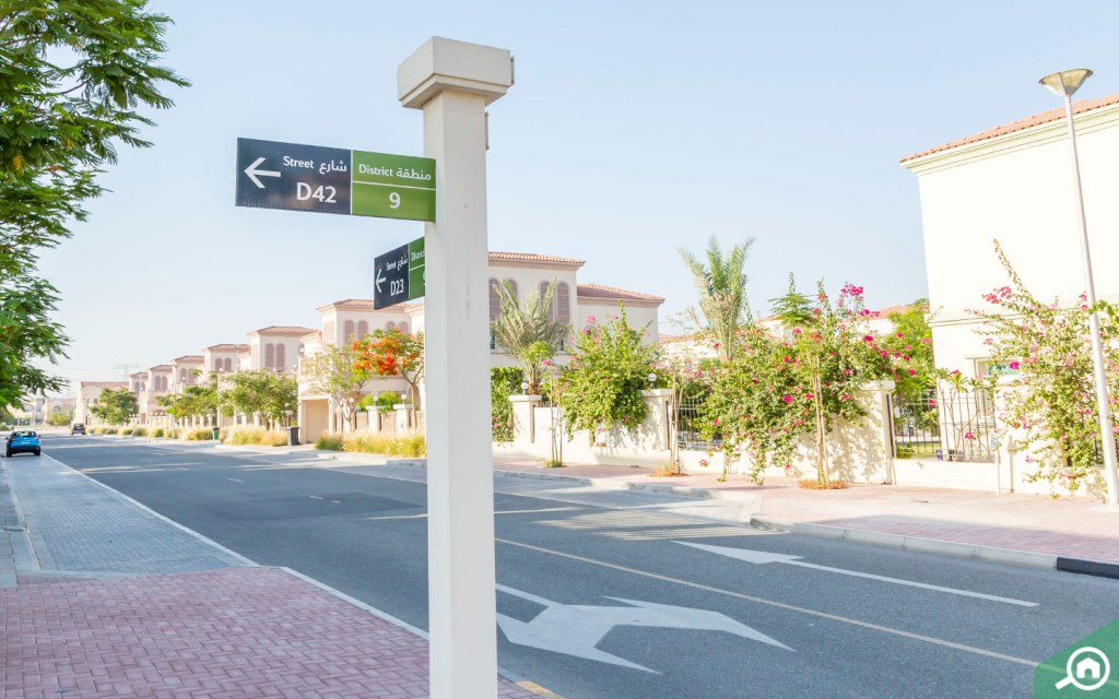 Street View Jumeirah Village Triangle