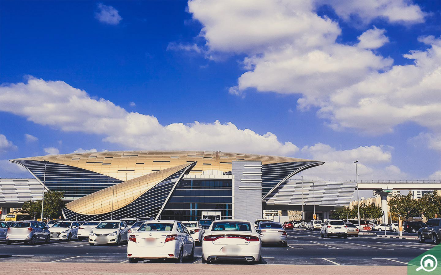 Dubai Airport Free Zone metro station