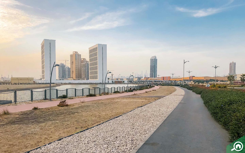 شقق في مدينة دبي للإنتاج