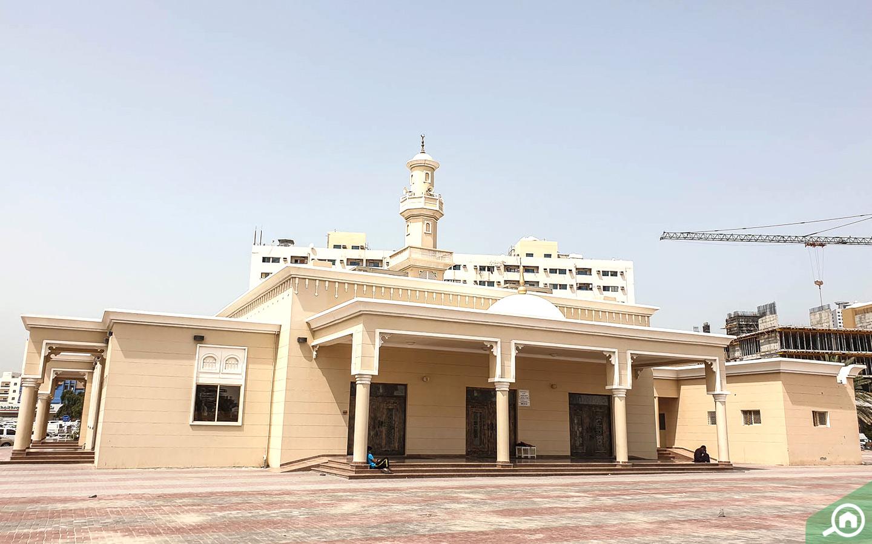 Abdullah Bin Omar Bin Al Khattab Mosque in Al Bustan, Ajman