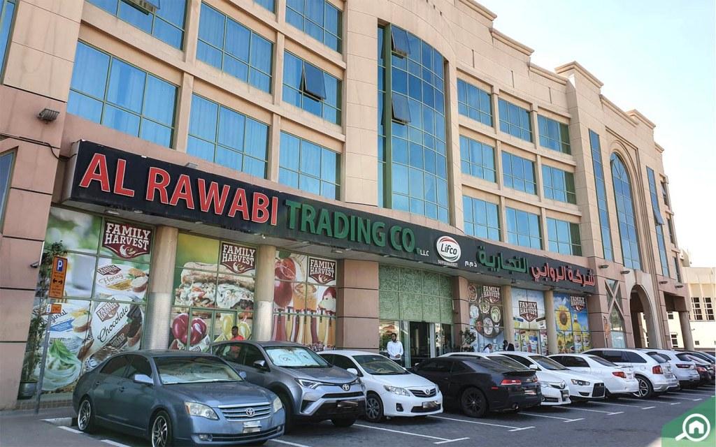 Lifco supermarket in al Garhoud
