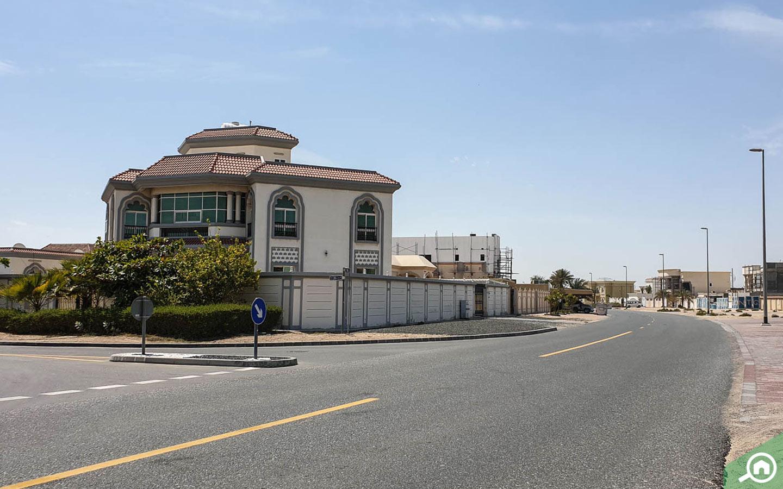 Main road near Al Warqaa