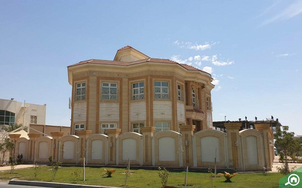 Al Warqaa Villa architecture