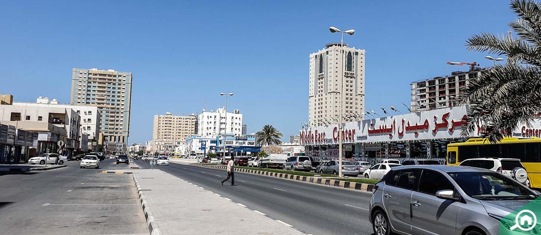 living in al zahraa ajman
