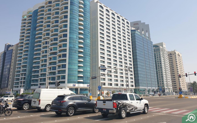 Apartment buildings on Corncihe Road