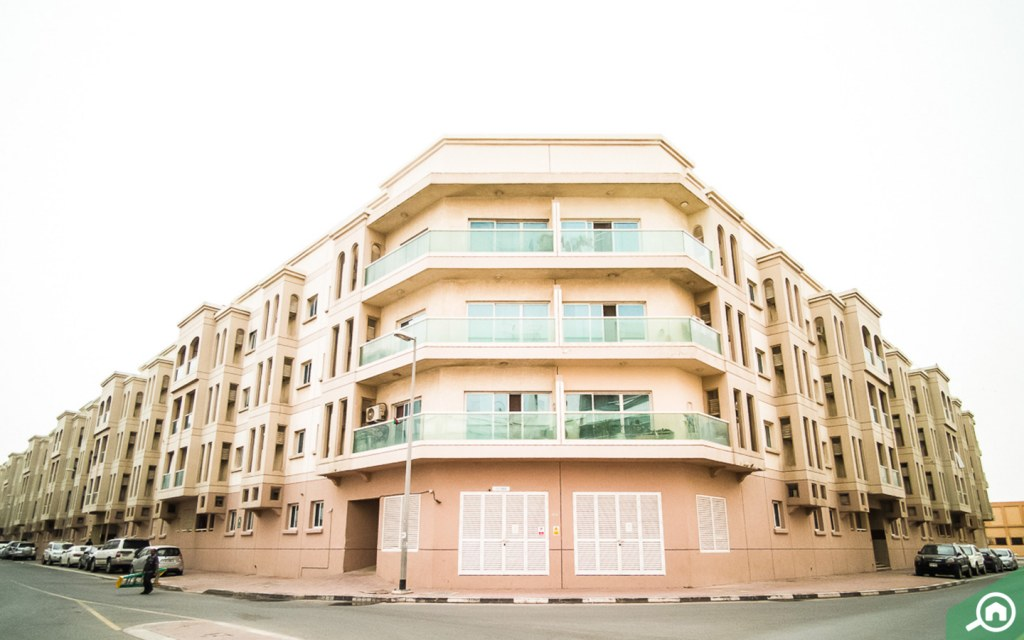 a residential building in Muhaisnah