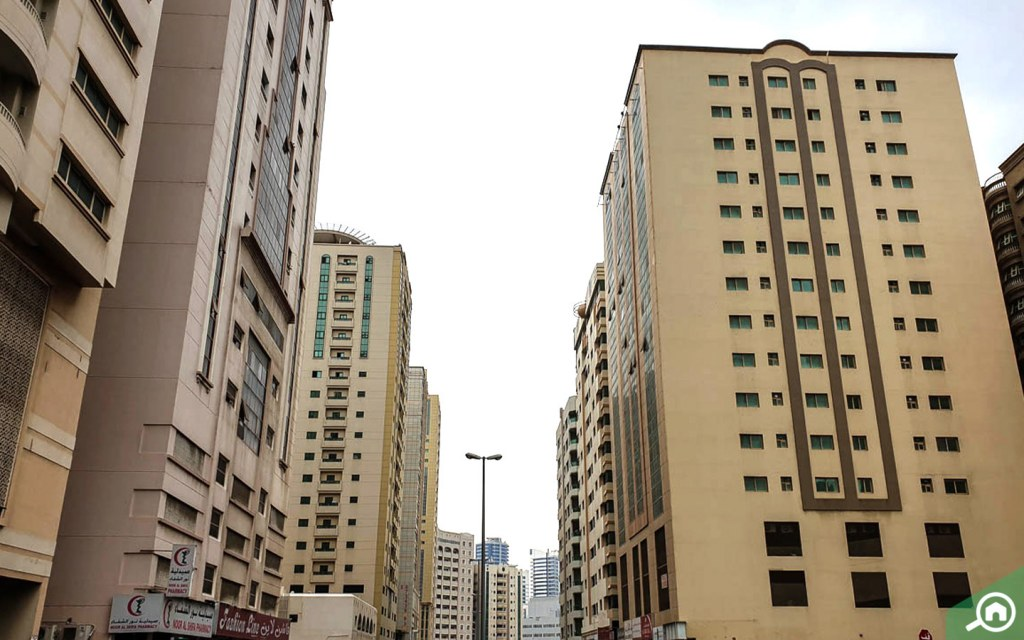Types of buildings in Al Qasimia