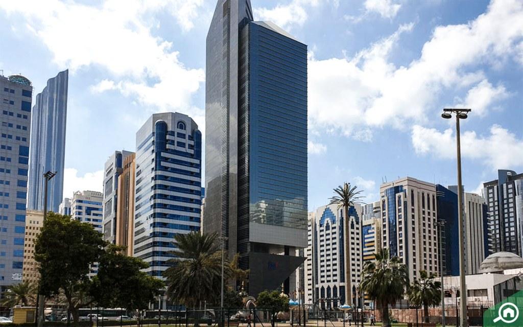 Buildings on Al Najda Street