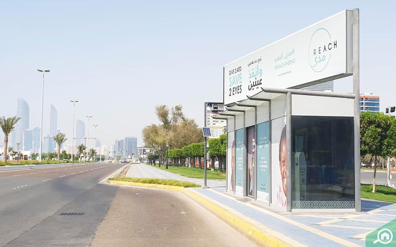 bus station on corniche road