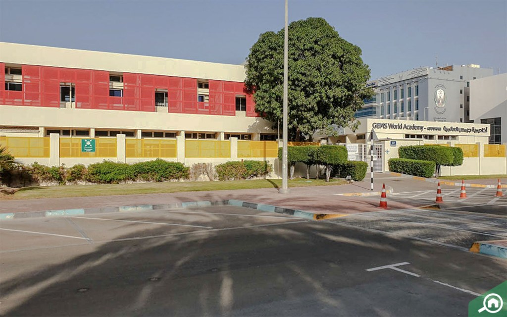 GEMS World Academy on Al Najda Street