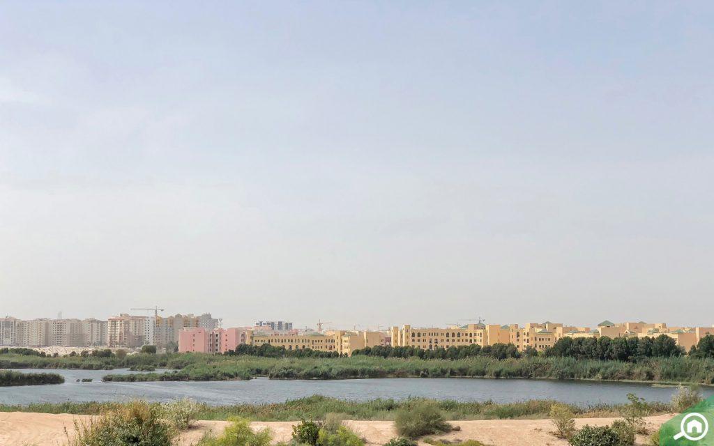 بحيرة الورسان في المدينة العالمية