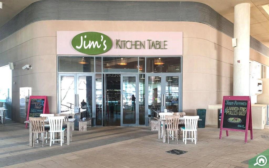 Jim's Kitchen Table in Masdar City