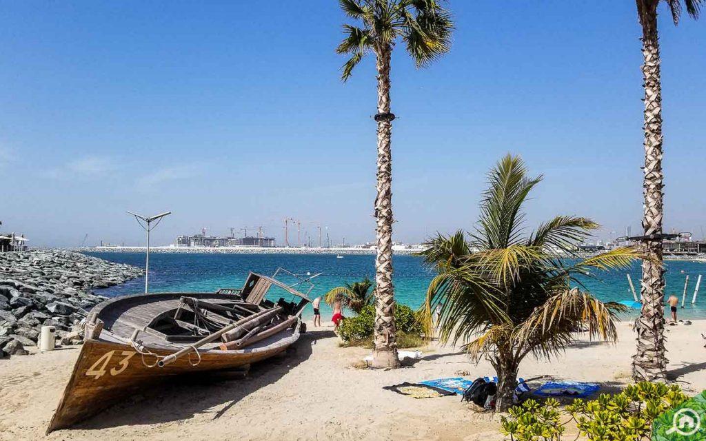 jumeirah beach near mbr city