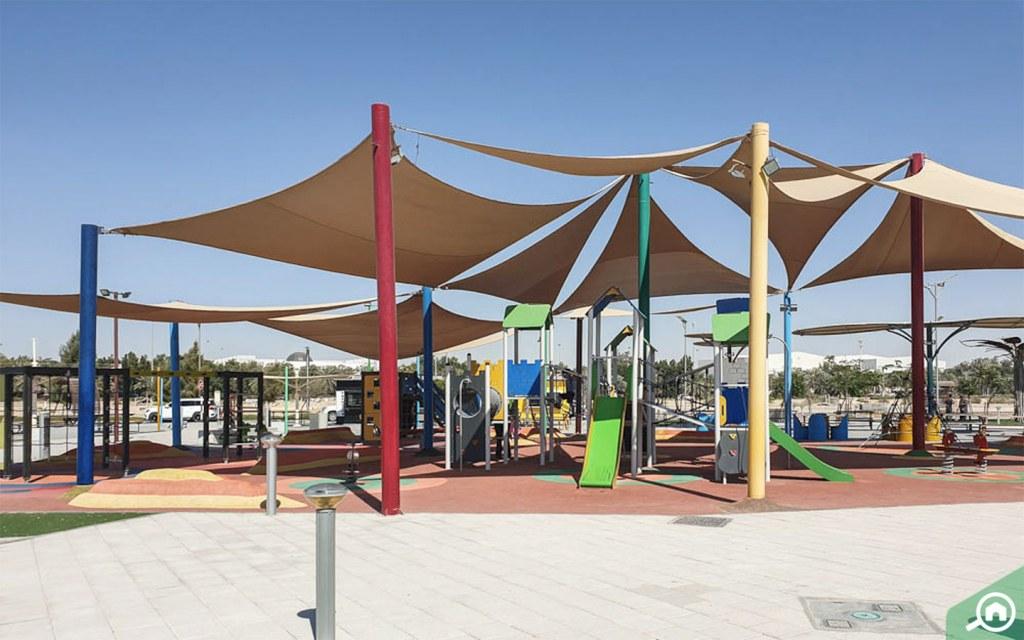 Masdar Park in Masdar City